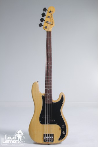 Fender American Precision Bass 1978 Natural (Refinished Black)