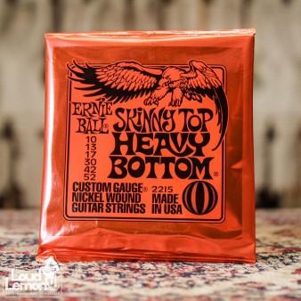 Ernie Ball 2215 Skinny Top Heavy Bottom 10-52 струны для электрогитары