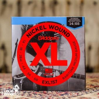 D'Addario EXL157 Nickel Wound Baritone 14-68 струны для электрогитары баритон