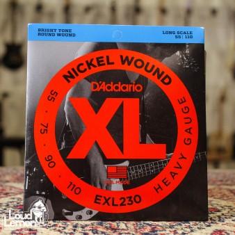 D'Addario EXL230 Nickel Wound 55-110 струны для бас-гитары