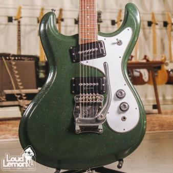 Mosrite Avenger Green Sparkle
