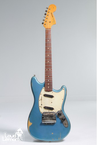 Fender Mustang 1965 Lake Placid Blue