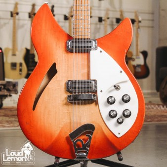 Rickenbacker 330/12 1966 Fireglo электрогитара