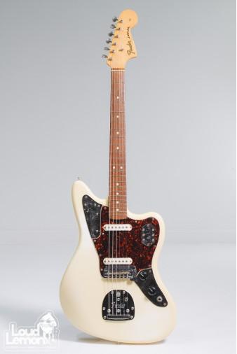 Fender Jaguar AVRI Olympic White