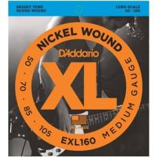 EXL160BT Nickel Wound Bass 50-120