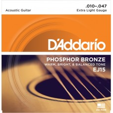 EJ15 Phosphor Bronze Extra Light 10-47