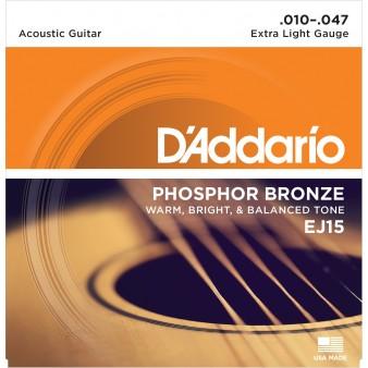 EJ15 Phosphor Bronze Extra Light 10-47