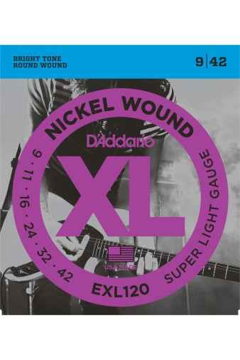 EXL120 Nickel Wound 9-42