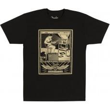 Fender Sitting Player T-Shirt Black футболка