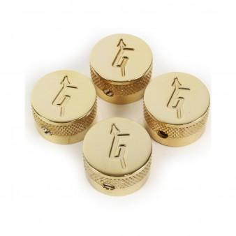 "Gretsch Knob ""G"" Logo Gold (4) ручки потенциометров"