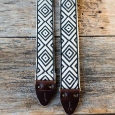 Indian Guitar Strap in Siwan