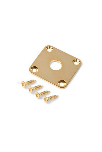 Metal Jack Plate Gold пластина для джека
