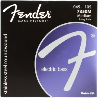 Stainless 7350's Bass Strings, Stainless Steel 7350M