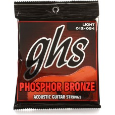 S325 Phosphor Bronze Acoustic Strings 12 - 54