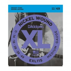 D'Addario EXL115 Nickel Wound 11-49