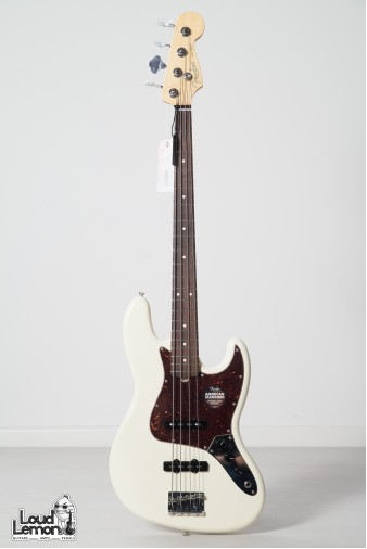 American Standard Jazz Bass Olympic White