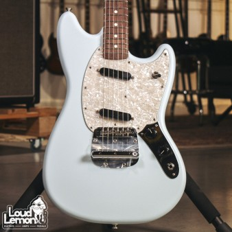 Fender American Performer Mustang Satin Sonic Blue электрогитара