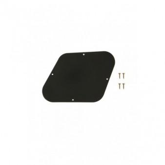 Gibson Control Plate Black Les Paul задняя крышка