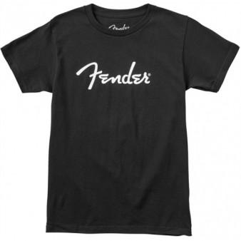 Fender Spaghetti Logo Black размер L футболка мужская