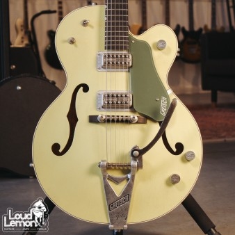 Gretsch Custom Shop G6118T Double Anniversary Aged Smoke Two Tone Green 2007 USA электрогитара