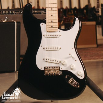 Fender Eric Clapton Blackie Stratocaster Black 2017 USA электрогитара