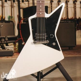 Gibson Explorer Melody Maker Satin White 2011 USA электрогитара