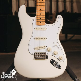 Fender Jimi Hendrix Strat Olympic White 2016 Mexico электрогитара