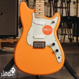 Fender Duo-Sonic Maple Fingerboard Capri Orange электрогитара