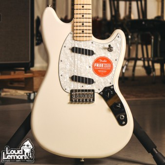 Fender Mustang Olympic White электрогитара