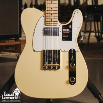 Fender American Performer Telecaster with Humbucker Vintage White электрогитара