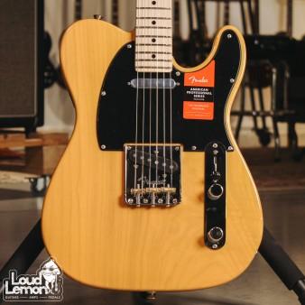Fender American Pro Telecaster Butterscotch Blonde электрогитара