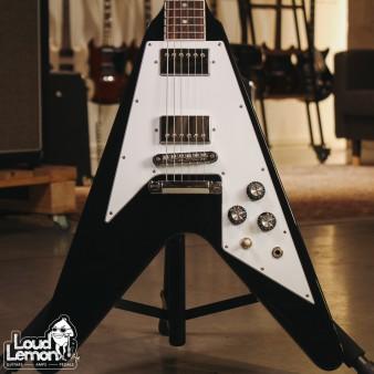 Gibson 120th Anniversary Flying V Ebony 2014 USA электрогитара