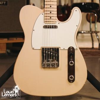 Fender Highway One Telecaster Honey Blonde Transparent 2007 USA электрогитара