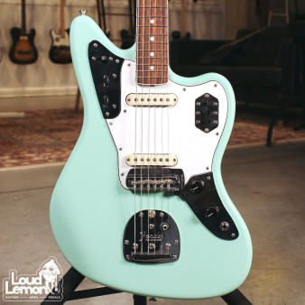 Fender American Original 60's Jaguar Surf Green электрогитара
