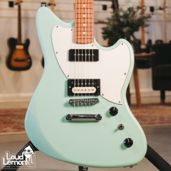 Fender Powercaster Surf Green электрогитара