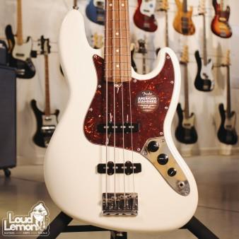 Fender American Standard Jazz Bass Olympic White бас-гитара