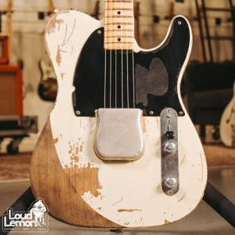 Fender Masterbuilt Jeff Beck Esquire Telecaster White 2006 USA электрогитара