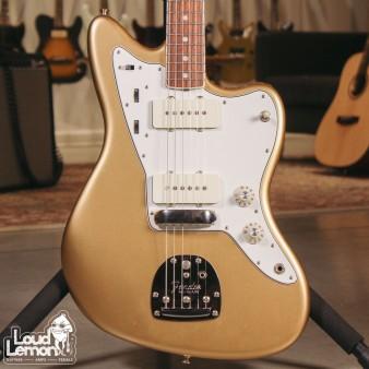 Fender AVRI'65 Jazzmaster Aztec Gold 2012 USA электрогитара