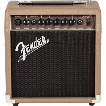 Fender Acoustasonic 15 усилитель для акустической гитары
