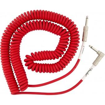 Fender Original Series Fiesta Red витой кабель 9м