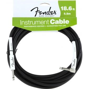 Fender Performance Series кабель гитарный прямой-угловой 6 метров