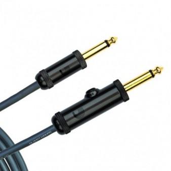 D'addario PW-AG-20 кабель с выключателем прямой 6м