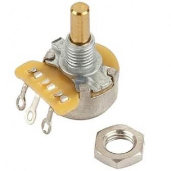 Fender 1 Meg Linear Mini Solid Shaft потенциометр