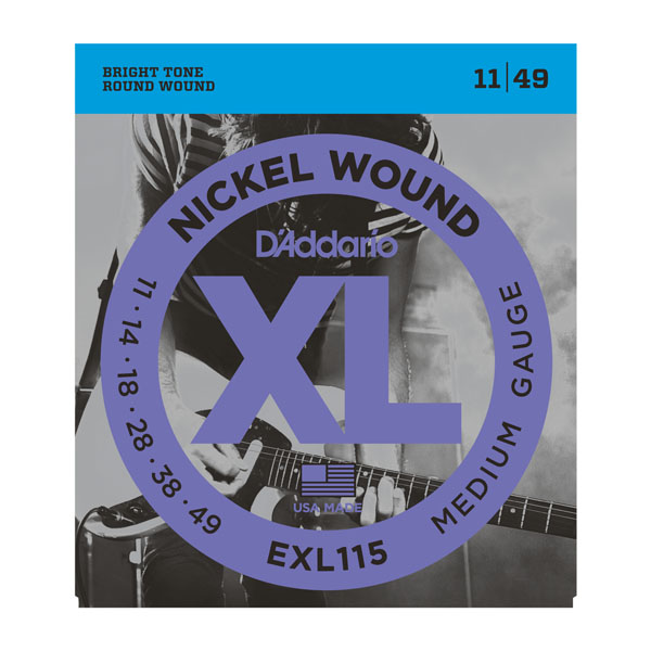 EXL115 Nickel Wound 11-49